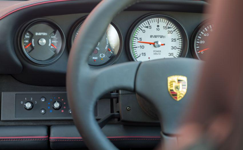 Meet Everrati's fully electric 964 Porsche 911 – 507 PS & 500 Nm, RWD, 0-100 km/h under 4 secs; fr RM1.46m Image #1300640