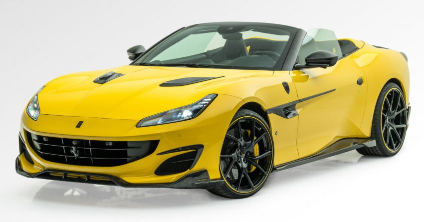 Ferrari Portofino gets the Mansory treatment – 720 PS and 890 Nm, 0-100 km/h in 3 seconds; carbon hardtop Image #1293099