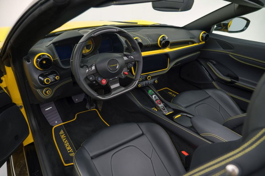 Ferrari Portofino gets the Mansory treatment – 720 PS and 890 Nm, 0-100 km/h in 3 seconds; carbon hardtop Image #1293108