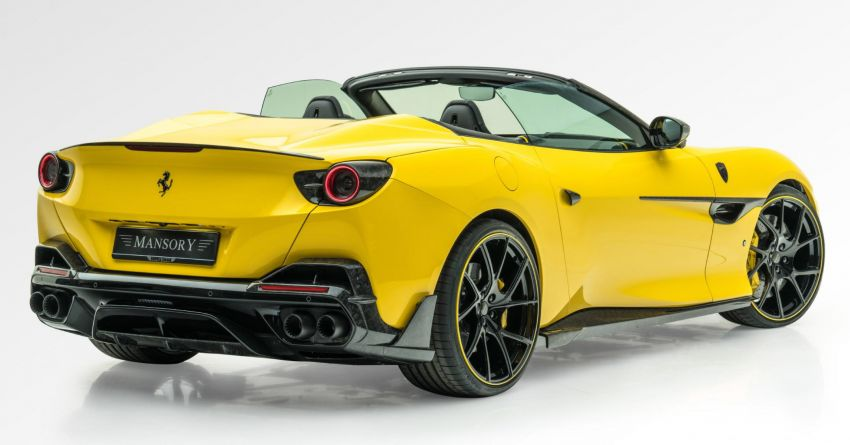 Ferrari Portofino gets the Mansory treatment – 720 PS and 890 Nm, 0-100 km/h in 3 seconds; carbon hardtop Image #1293100
