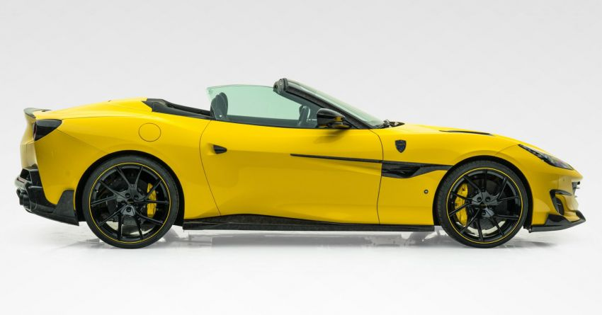 Ferrari Portofino gets the Mansory treatment – 720 PS and 890 Nm, 0-100 km/h in 3 seconds; carbon hardtop Image #1293101
