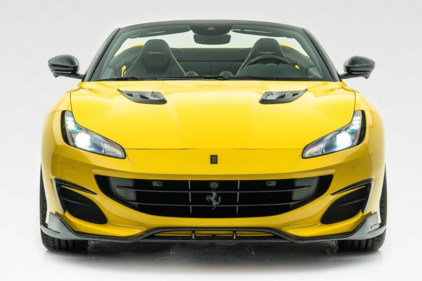 Ferrari Portofino gets the Mansory treatment – 720 PS and 890 Nm, 0-100 km/h in 3 seconds; carbon hardtop Image #1293102