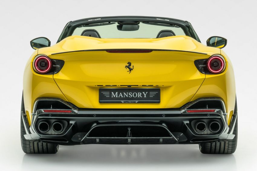 Ferrari Portofino gets the Mansory treatment – 720 PS and 890 Nm, 0-100 km/h in 3 seconds; carbon hardtop Image #1293103