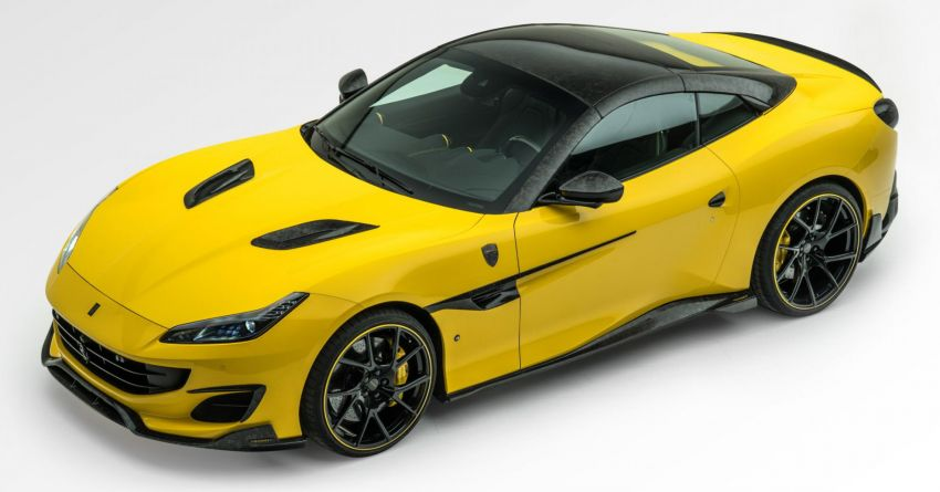 Ferrari Portofino gets the Mansory treatment – 720 PS and 890 Nm, 0-100 km/h in 3 seconds; carbon hardtop Image #1293104