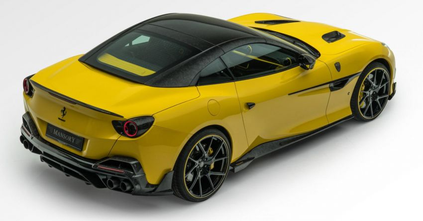 Ferrari Portofino gets the Mansory treatment – 720 PS and 890 Nm, 0-100 km/h in 3 seconds; carbon hardtop Image #1293105
