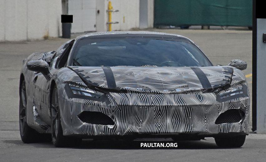 SPYSHOTS: Ferrari V6 hybrid seen running road trials; 3.0L twin-turbo V6 rear-drive hybrid codenamed F171 Image #1300765