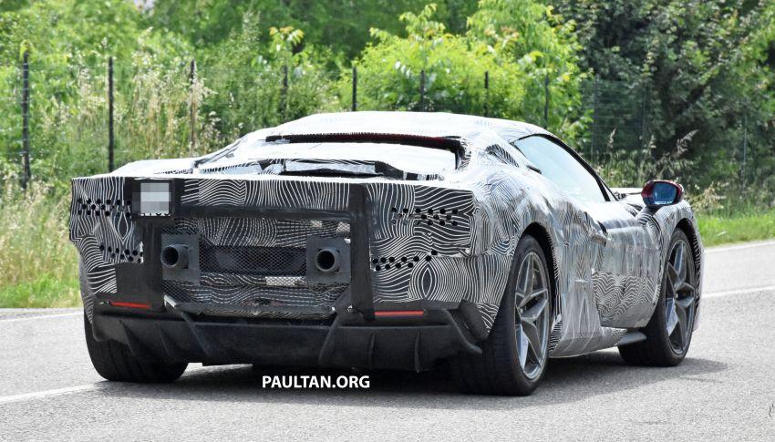 SPYSHOTS: Ferrari V6 hybrid seen running road trials; 3.0L twin-turbo V6 rear-drive hybrid codenamed F171 Image #1300778