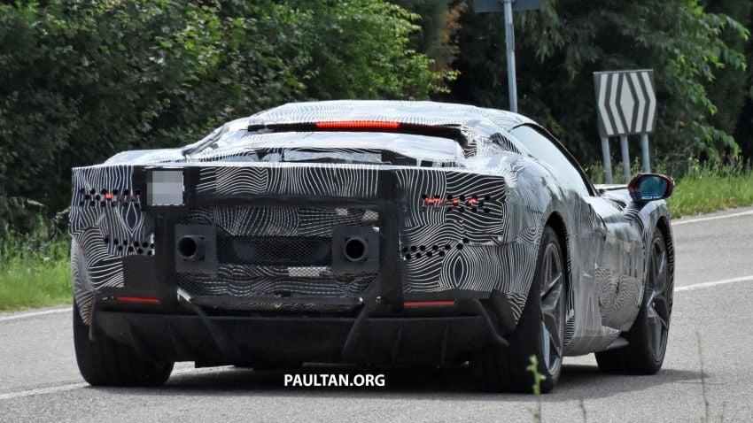 SPYSHOTS: Ferrari V6 hybrid seen running road trials; 3.0L twin-turbo V6 rear-drive hybrid codenamed F171 Image #1300779