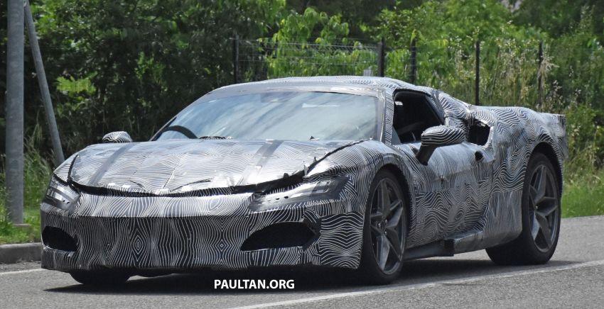SPYSHOTS: Ferrari V6 hybrid seen running road trials; 3.0L twin-turbo V6 rear-drive hybrid codenamed F171 Image #1300780