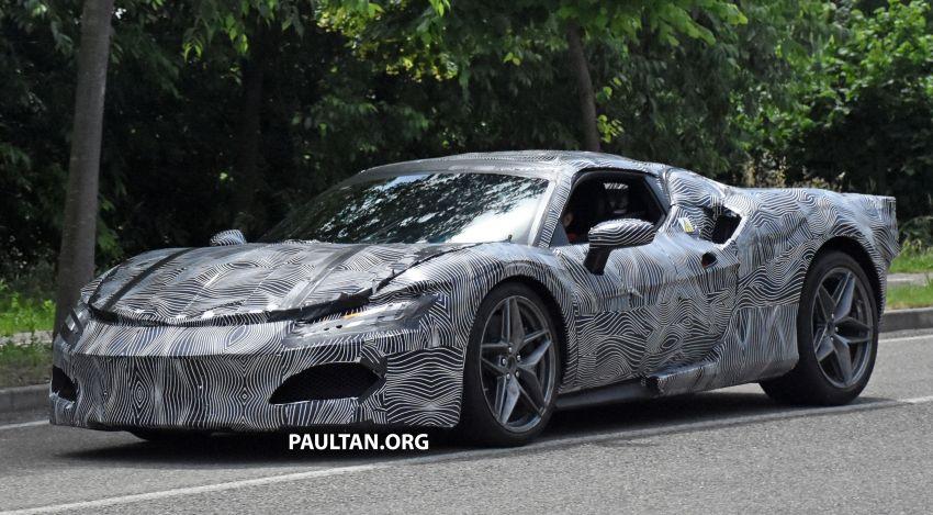 SPYSHOTS: Ferrari V6 hybrid seen running road trials; 3.0L twin-turbo V6 rear-drive hybrid codenamed F171 Image #1300781