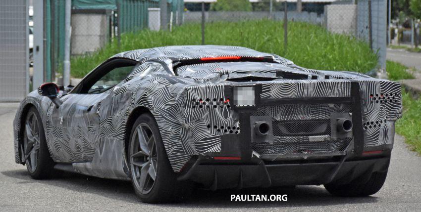 SPYSHOTS: Ferrari V6 hybrid seen running road trials; 3.0L twin-turbo V6 rear-drive hybrid codenamed F171 Image #1300782