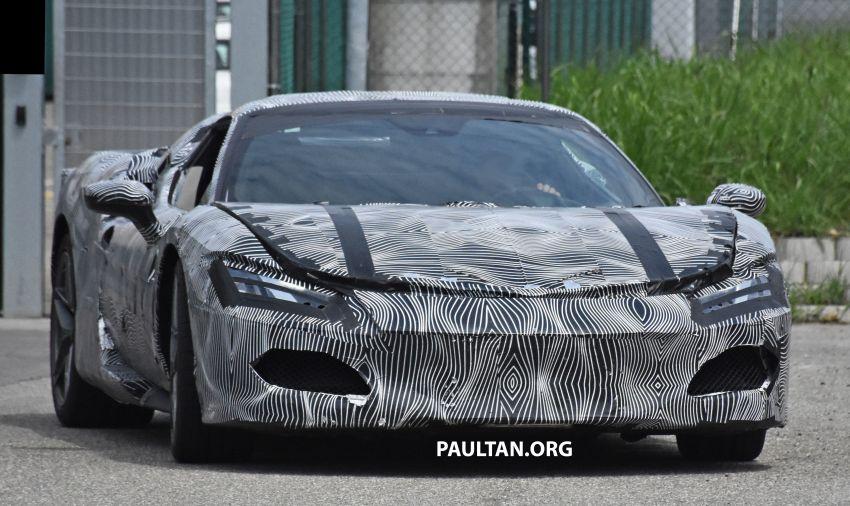 SPYSHOTS: Ferrari V6 hybrid seen running road trials; 3.0L twin-turbo V6 rear-drive hybrid codenamed F171 Image #1300766