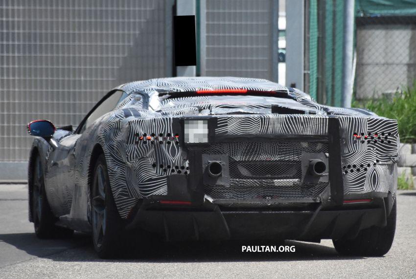 SPYSHOTS: Ferrari V6 hybrid seen running road trials; 3.0L twin-turbo V6 rear-drive hybrid codenamed F171 Image #1300788