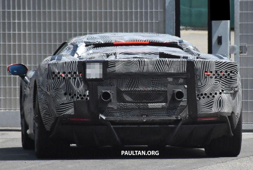 SPYSHOTS: Ferrari V6 hybrid seen running road trials; 3.0L twin-turbo V6 rear-drive hybrid codenamed F171 Image #1300790