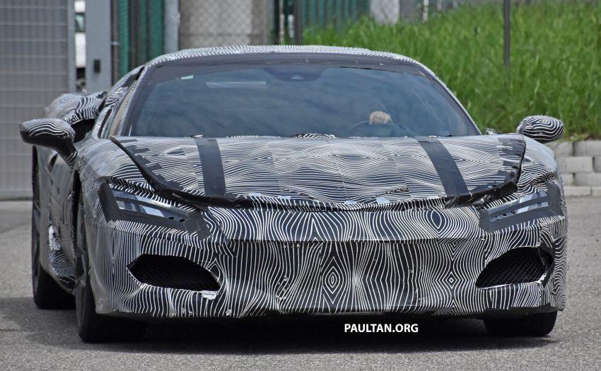 SPYSHOTS: Ferrari V6 hybrid seen running road trials; 3.0L twin-turbo V6 rear-drive hybrid codenamed F171 Image #1300767