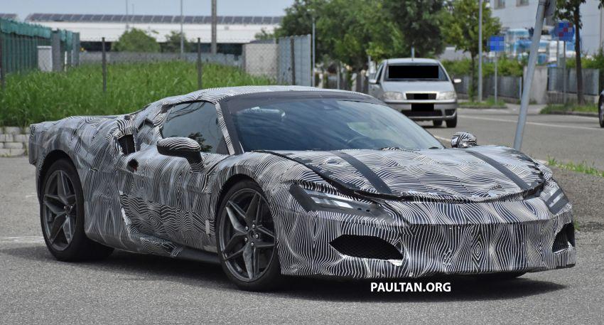 SPYSHOTS: Ferrari V6 hybrid seen running road trials; 3.0L twin-turbo V6 rear-drive hybrid codenamed F171 Image #1300770
