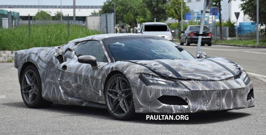 SPYSHOTS: Ferrari V6 hybrid seen running road trials; 3.0L twin-turbo V6 rear-drive hybrid codenamed F171 Image #1300771