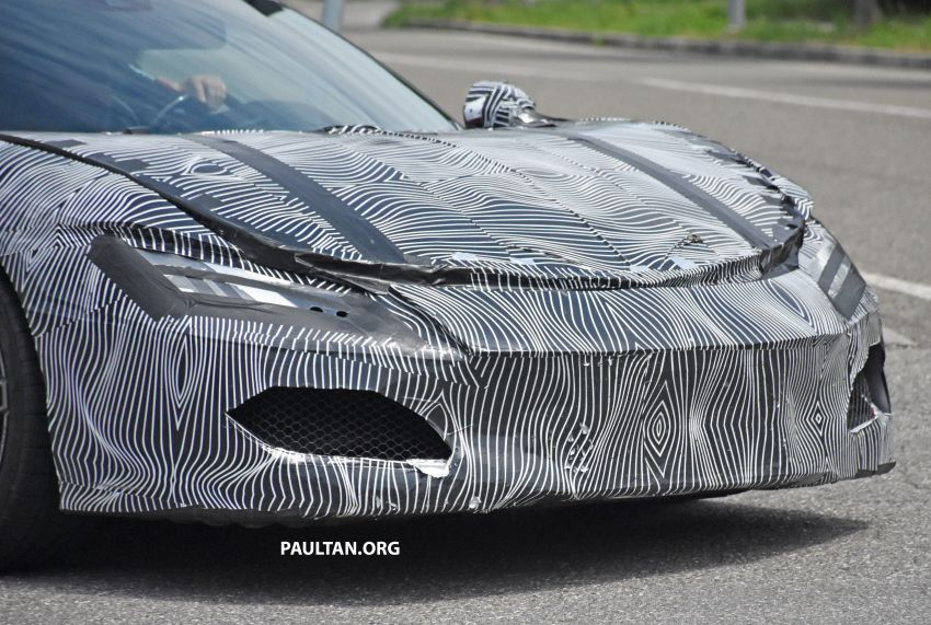 SPYSHOTS: Ferrari V6 hybrid seen running road trials; 3.0L twin-turbo V6 rear-drive hybrid codenamed F171 Image #1300773