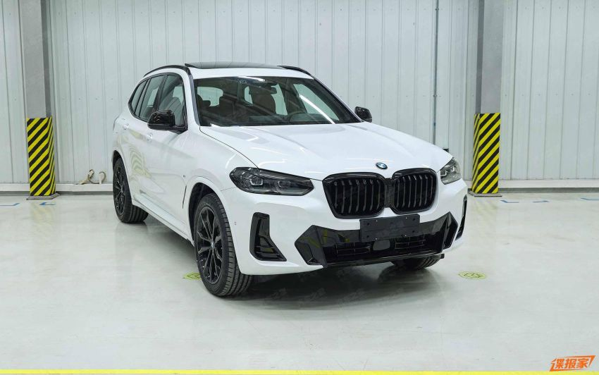 2021 BMW X3 and iX3 facelifts leaked in full – G01 and G08 LCI get bigger grille, new lights and bumpers Image #1294387