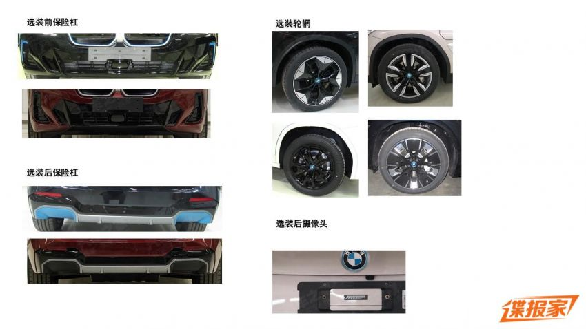 2021 BMW X3 and iX3 facelifts leaked in full – G01 and G08 LCI get bigger grille, new lights and bumpers Image #1294394