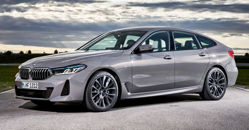 2021 BMW 5 Series, 6 Series GT updated – four-zone climate control with nano filter, M multifunction seats Image #1299145