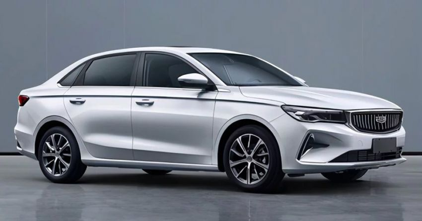 Geely SS11 – fourth-generation Emgrand sedan to be launched in China this year; 1.5L NA with 114 PS Image #1294861