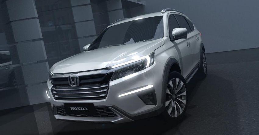 Honda N7X concept previews 2022 BR-V 7-seat SUV Image #1289934