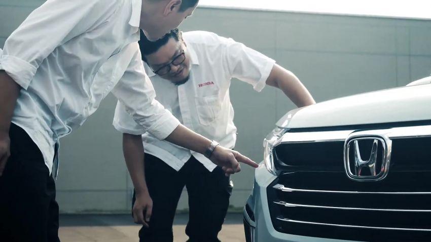 Honda N7X concept previews 2022 BR-V 7-seat SUV Image #1289971