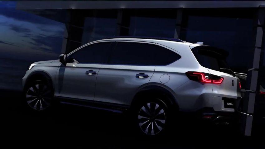 Honda N7X concept previews 2022 BR-V 7-seat SUV Image #1289972