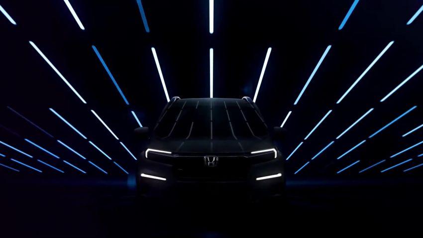 Honda N7X concept previews 2022 BR-V 7-seat SUV Image #1289973