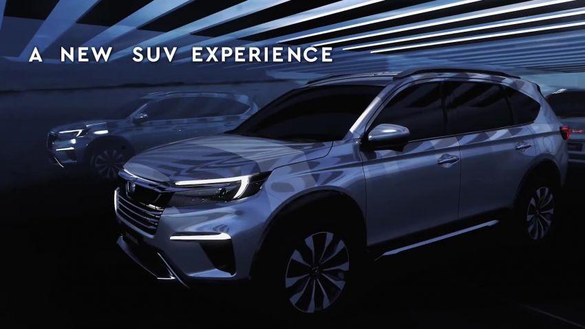 Honda N7X concept previews 2022 BR-V 7-seat SUV Image #1289974