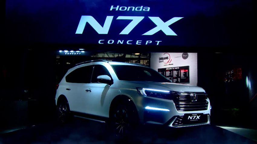 Honda N7X concept previews 2022 BR-V 7-seat SUV Image #1289975