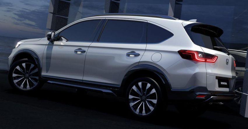 Honda N7X concept previews 2022 BR-V 7-seat SUV Image #1289935