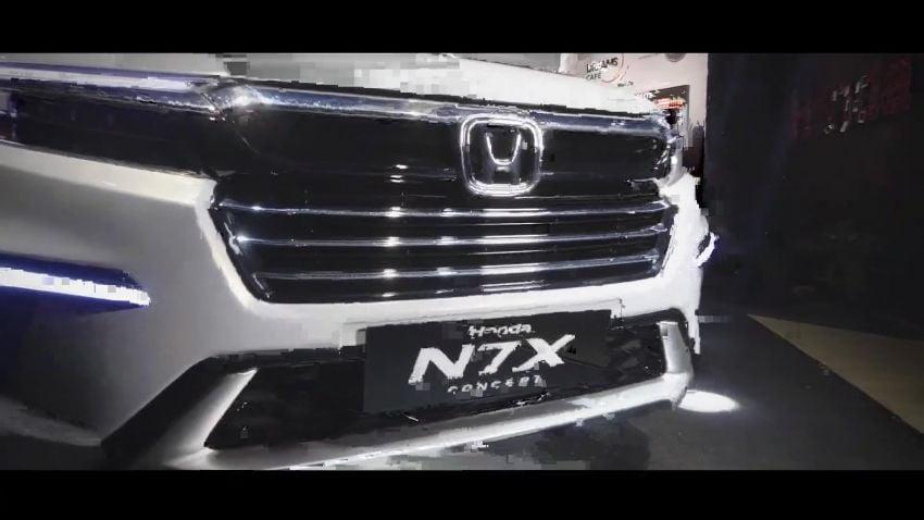 Honda N7X concept previews 2022 BR-V 7-seat SUV Image #1289984