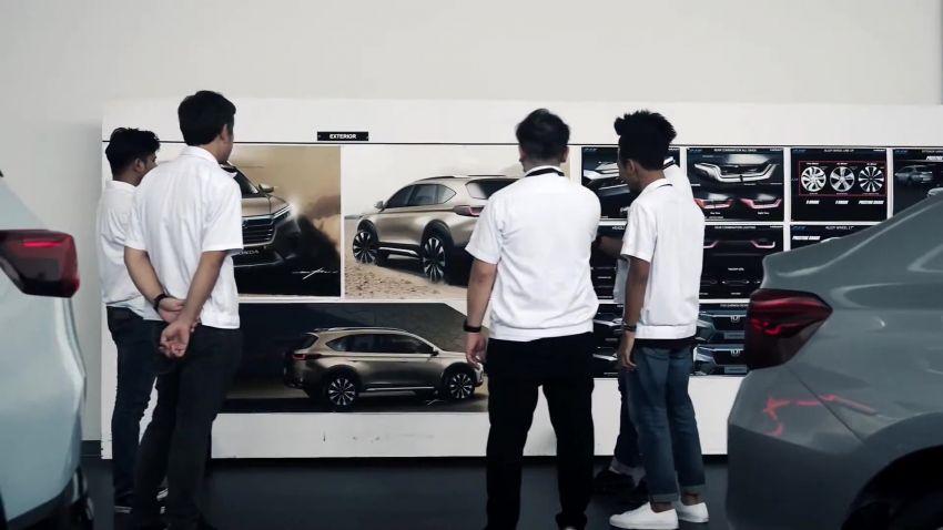 Honda N7X concept previews 2022 BR-V 7-seat SUV Image #1289962