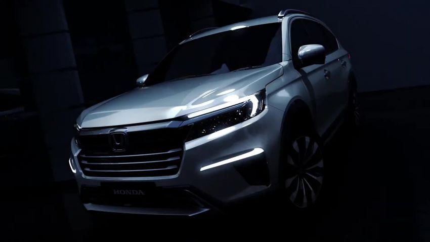 Honda N7X concept previews 2022 BR-V 7-seat SUV Image #1289965