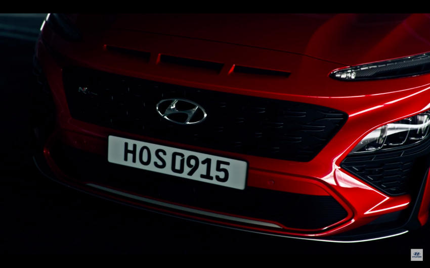 Hyundai Kona N Line teased, coming to Malaysia soon Image #1297568