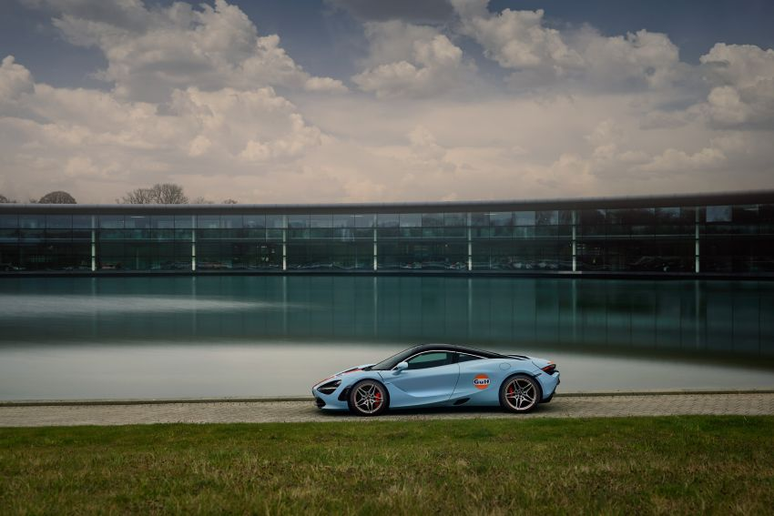 McLaren 720S gets Gulf livery to celebrate partnership Image #1294737