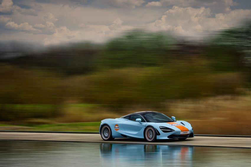 McLaren 720S gets Gulf livery to celebrate partnership Image #1294738