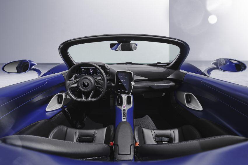 McLaren Elva gets a windscreen, but no roof, windows Image #1299573