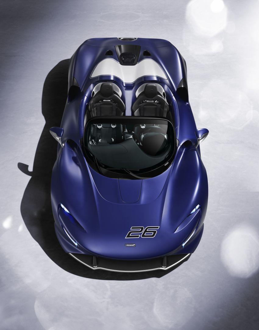 McLaren Elva gets a windscreen, but no roof, windows Image #1299574