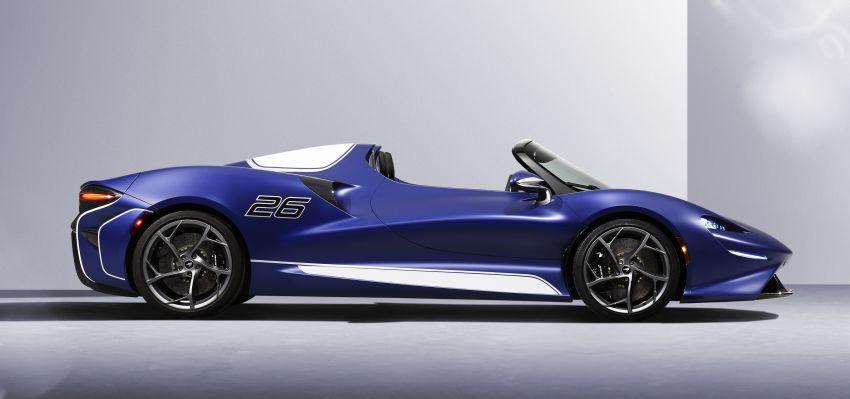 McLaren Elva gets a windscreen, but no roof, windows Image #1299575