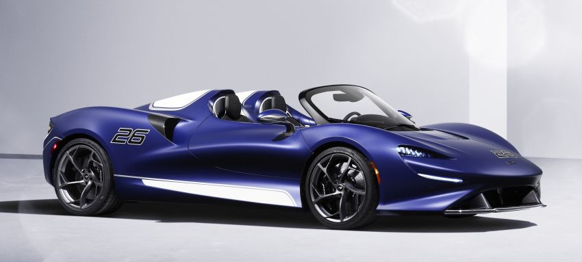 McLaren Elva gets a windscreen, but no roof, windows Image #1299576