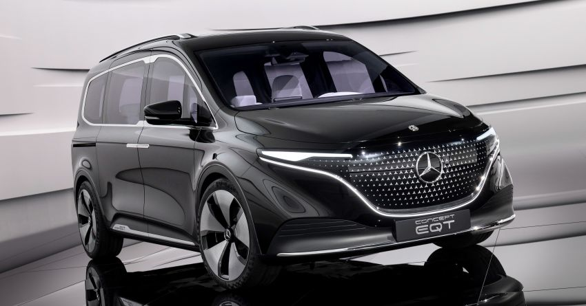 Mercedes-Benz Concept EQT makes its official debut – previews new all-electric version of upcoming T-Class Image #1293285