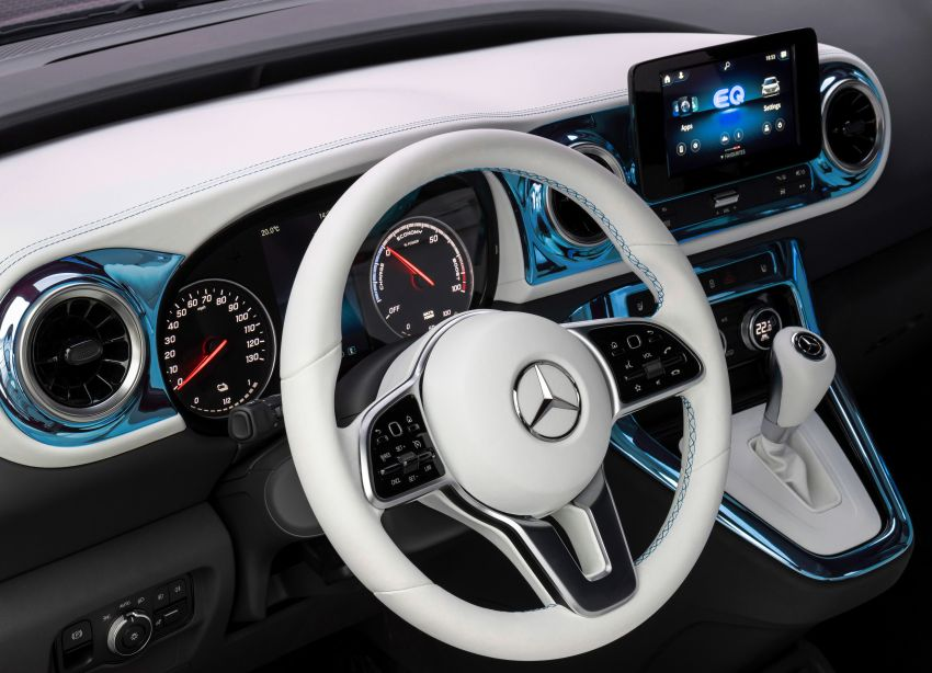 Mercedes-Benz Concept EQT makes its official debut – previews new all-electric version of upcoming T-Class Image #1293297