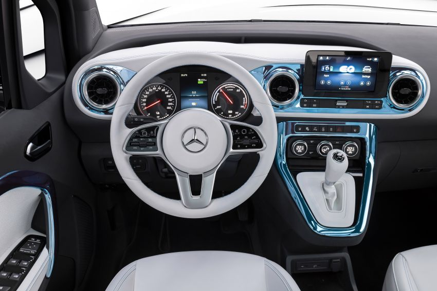 Mercedes-Benz Concept EQT makes its official debut – previews new all-electric version of upcoming T-Class Image #1293298