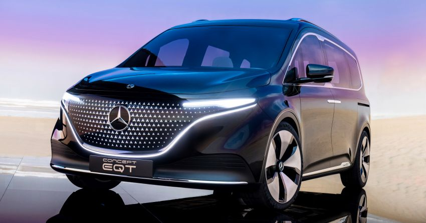 Mercedes-Benz Concept EQT makes its official debut – previews new all-electric version of upcoming T-Class Image #1293308
