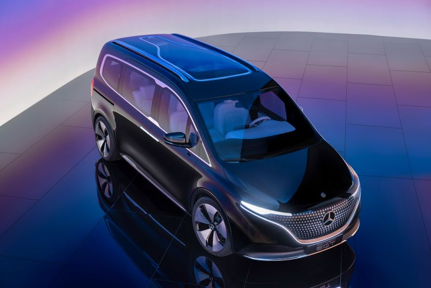 Mercedes-Benz Concept EQT makes its official debut – previews new all-electric version of upcoming T-Class Image #1293309
