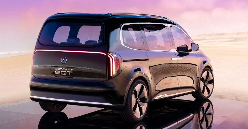 Mercedes-Benz Concept EQT makes its official debut – previews new all-electric version of upcoming T-Class Image #1293310