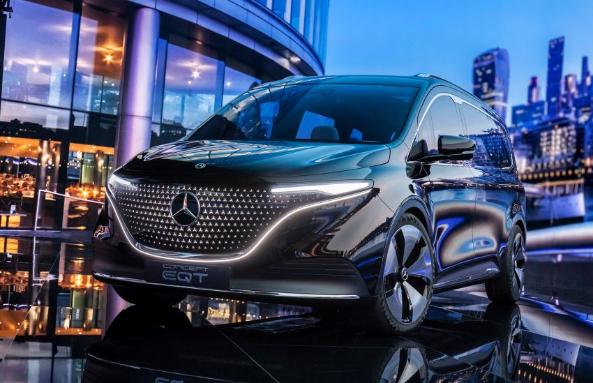 Mercedes-Benz Concept EQT makes its official debut – previews new all-electric version of upcoming T-Class Image #1293318